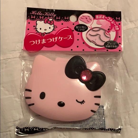 61895641a Hello Kitty Accessories   False Eyelash Case From Japan   Poshmark